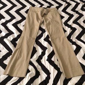 The Limited Exact Stretch Bootcut Pants Light Tan
